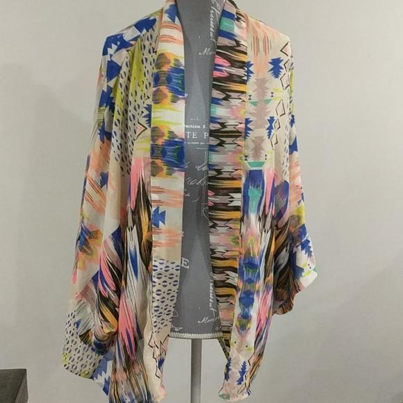 Fun and flirt Bohemian style shawl
